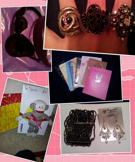 Jewelry & Card Mini Haul. **Giveaway News**